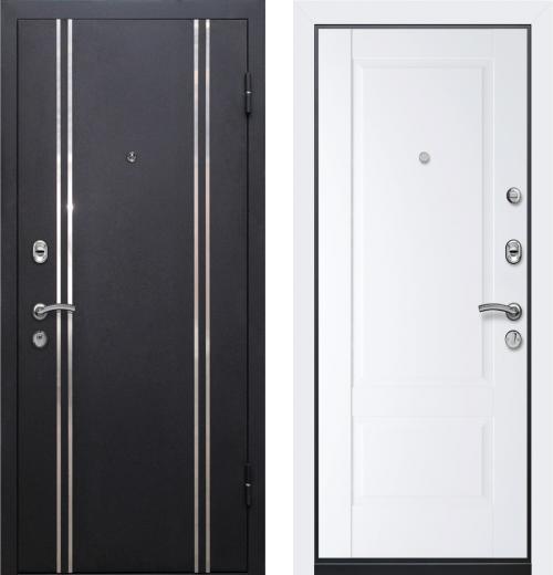 входные двери (стальные двери, металлические двери) DOORS007: дверь Ле-Гран БАЗА 57 «МЮНХЕН-3» 105U Аляска