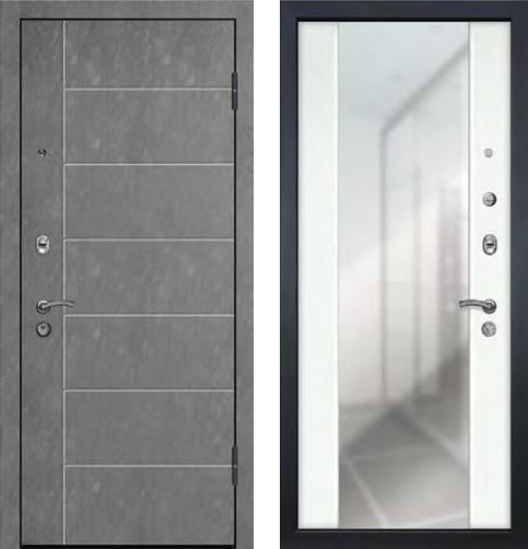 входные двери (стальные двери, металлические двери) DOORS007: дверь Ле-Гран БАЗА 42 «Волкодав» ST-18