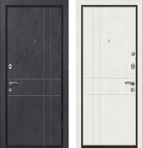 входные двери (стальные двери, металлические двери) DOORS007: дверь Ле-Гран БАЗА 42 «Волкодав» ST-26
