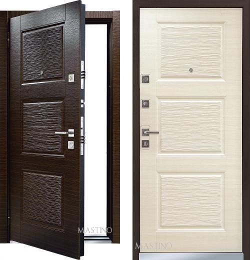 входные двери (стальные двери, металлические двери) DOORS007: дверь Mastino Monte / Line 3