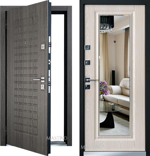 входные двери (стальные двери, металлические двери) DOORS007: дверь Mastino Marke