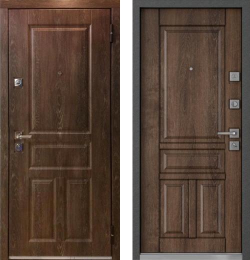 входные двери (стальные двери, металлические двери) DOORS007: дверь Mastino Monte MS-42