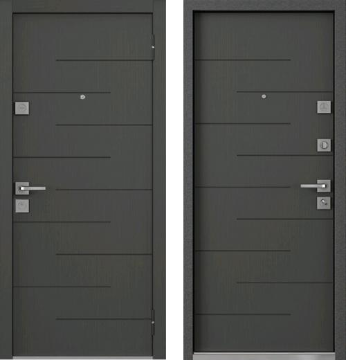 входные двери (стальные двери, металлические двери) DOORS007: дверь Mastino Monte MS-13
