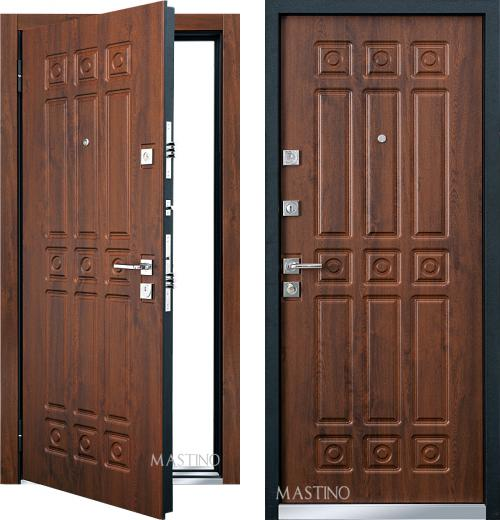 входные двери (стальные двери, металлические двери) DOORS007: дверь Mastino Novara