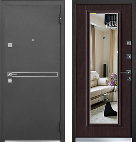 входные двери (стальные двери, металлические двери) DOORS007: дверь Mastino Cielo