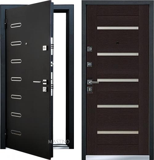 входные двери (стальные двери, металлические двери) DOORS007: дверь Mastino Terra D1