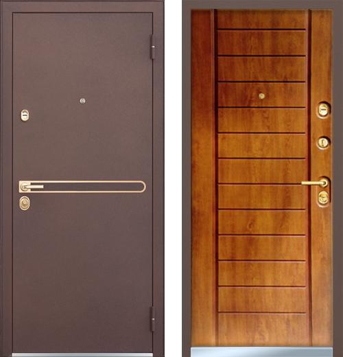 входные двери (стальные двери, металлические двери) DOORS007: дверь Mastino Strada