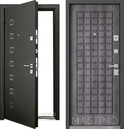входные двери (стальные двери, металлические двери) DOORS007: дверь Mastino Terra D3