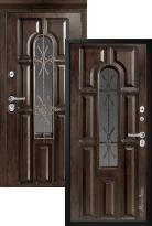 дверь Металюкс Элит CM60 с капителью (металлическая дверь Металюкс Элит CM60 с капителью, железная дверь)