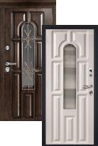 дверь Металюкс Элит CM60/2 с капителью (металлическая дверь Металюкс Элит CM60/2 с капителью, железная дверь)