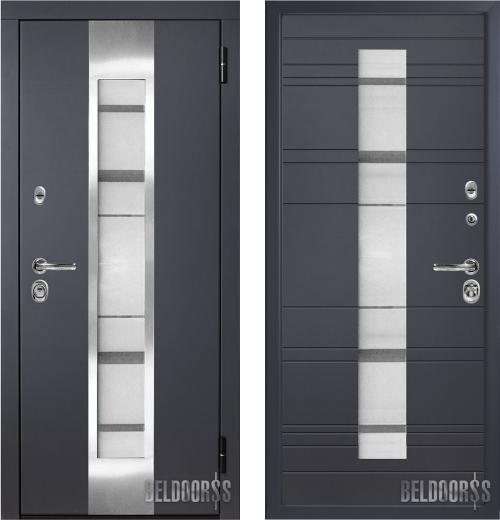 входные двери (стальные двери, металлические двери) DOORS007: дверь Металюкс Элит CM65