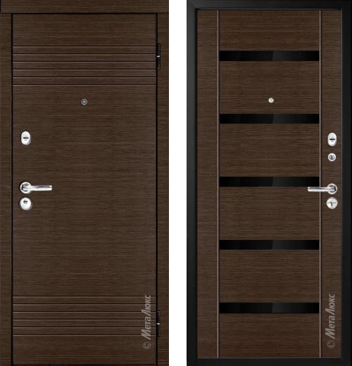 входные двери (стальные двери, металлические двери) DOORS007: дверь Металюкс Триумф М16