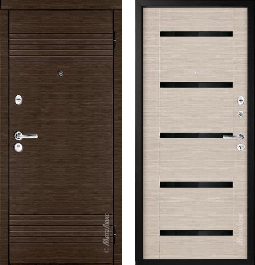 входные двери (стальные двери, металлические двери) DOORS007: дверь Металюкс Триумф М16/1