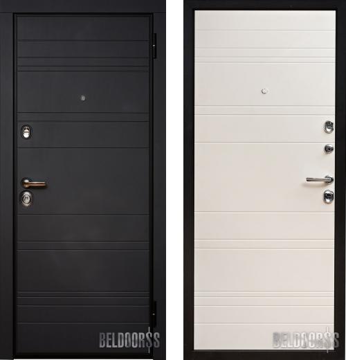 входные двери (стальные двери, металлические двери) DOORS007: дверь Металюкс Статус М700