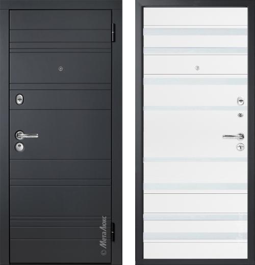 входные двери (стальные двери, металлические двери) DOORS007: дверь Металюкс Статус М700/2