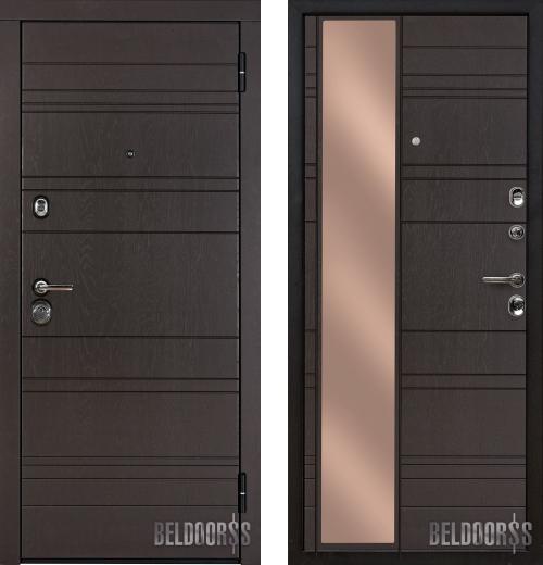 входные двери (стальные двери, металлические двери) DOORS007: дверь Металюкс Статус М701