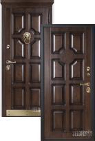 Входная дверь Металюкс Статус М707/2 (стальная дверь, металлическая дверь)