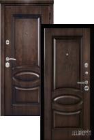 Входная дверь Металюкс Элит M71 с капителью (стальная дверь, металлическая дверь)