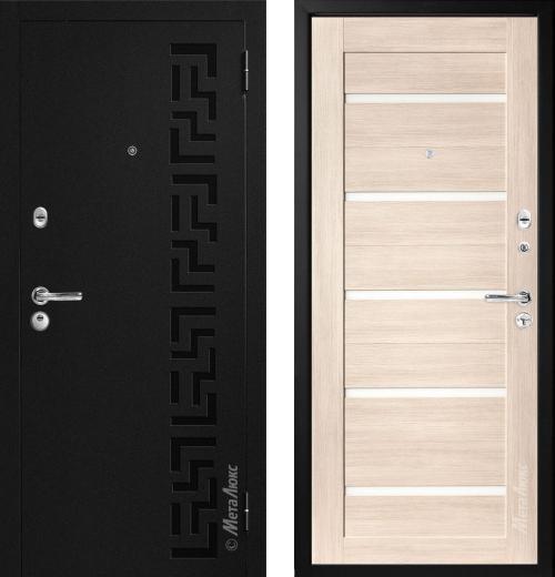входные двери (стальные двери, металлические двери) DOORS007: дверь Металюкс Статус М724