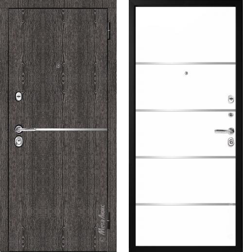 входные двери (стальные двери, металлические двери) DOORS007: дверь Металюкс Элит M74/1