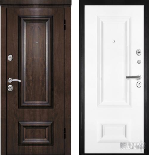 входные двери (стальные двери, металлические двери) DOORS007: дверь Металюкс Элит M75/3