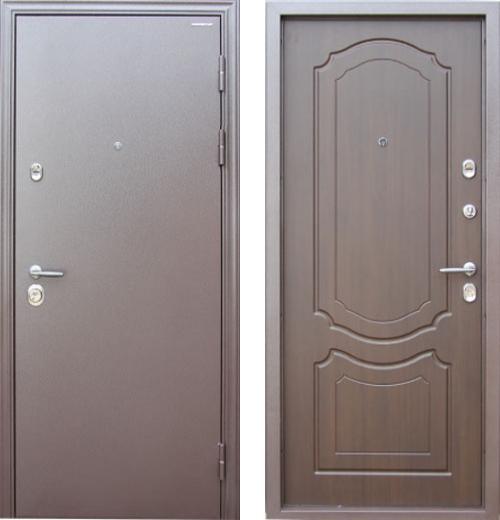 входные двери (стальные двери, металлические двери) DOORS007: дверь Профессор Профессор 3+ 02 МР
