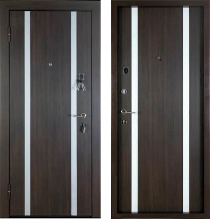 входные двери (стальные двери, металлические двери) DOORS007: дверь Профессор Профессор 3+ 02 РР