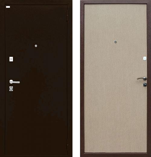 входные двери (стальные двери, металлические двери) DOORS007: дверь Ратибор Форт