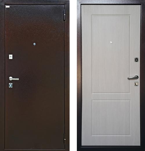 входные двери (стальные двери, металлические двери) DOORS007: дверь Ратибор Форт Люкс