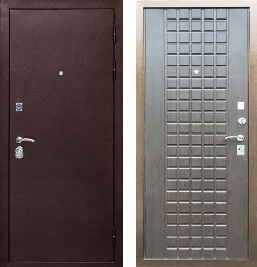 входные двери (стальные двери, металлические двери) DOORS007: дверь Ратибор Квадро 3К