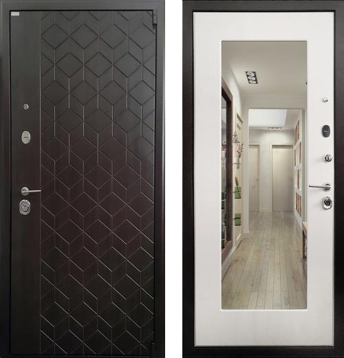входные двери (стальные двери, металлические двери) DOORS007: дверь Ратибор Квант 3К