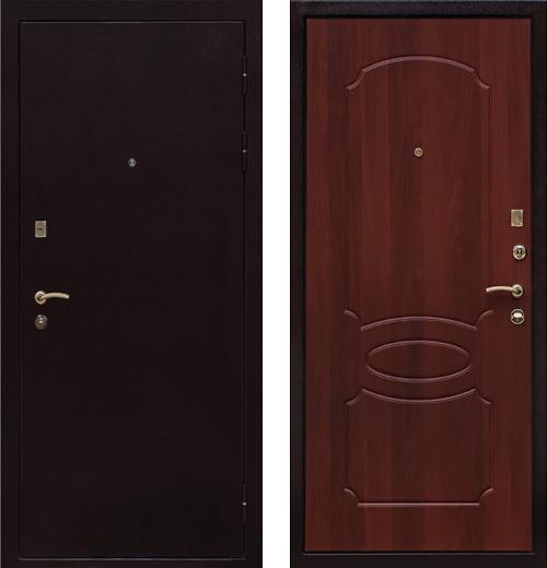 входные двери (стальные двери, металлические двери) DOORS007: дверь Ратибор Модерн