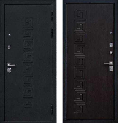 входные двери (стальные двери, металлические двери) DOORS007: дверь Ратибор Олимп