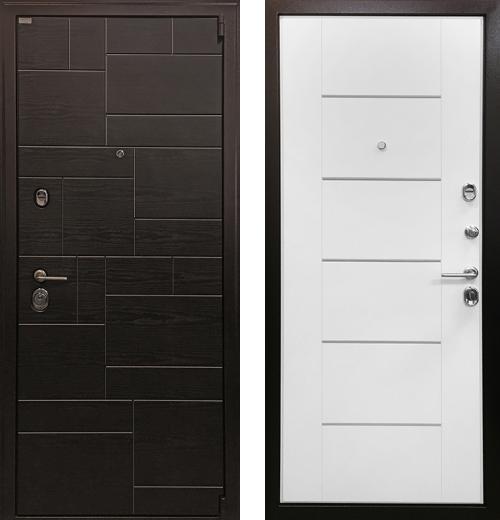 входные двери (стальные двери, металлические двери) DOORS007: дверь Ратибор Омега 3К