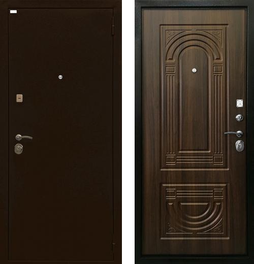 входные двери (стальные двери, металлические двери) DOORS007: дверь Ратибор Оптима 3К, Цвет
