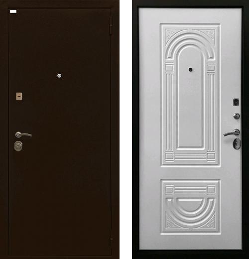 входные двери (стальные двери, металлические двери) DOORS007: дверь Ратибор Оптима 3К