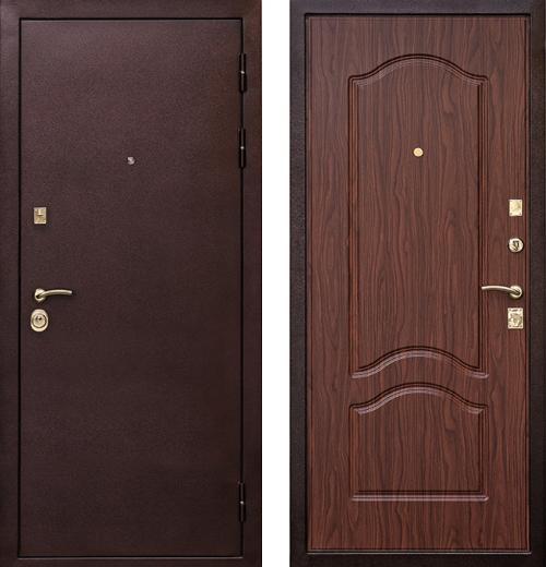 входные двери (стальные двери, металлические двери) DOORS007: дверь Ратибор Оксфорд