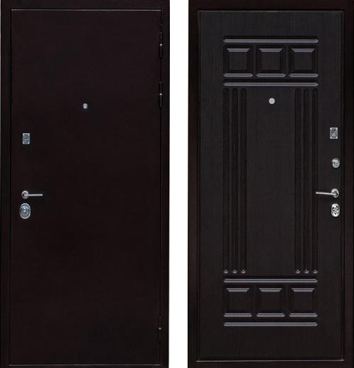 входные двери (стальные двери, металлические двери) DOORS007: дверь Ратибор Престиж 3 контура