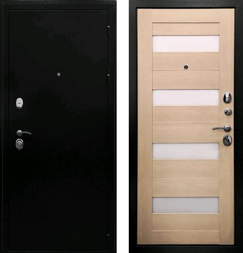 входные двери (стальные двери, металлические двери) DOORS007: дверь Ратибор Резидент 3К