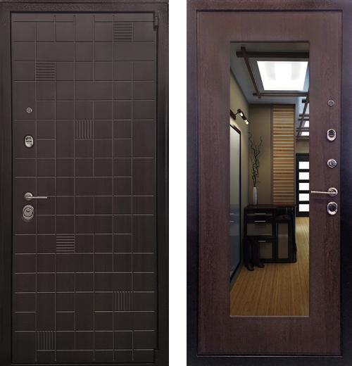 входные двери (стальные двери, металлические двери) DOORS007: дверь Ратибор Силуэт 3К