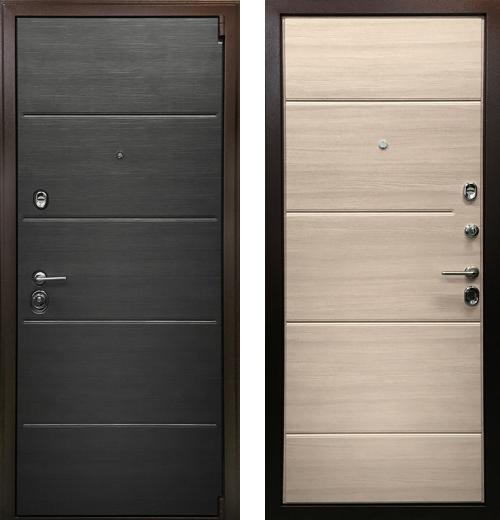 входные двери (стальные двери, металлические двери) DOORS007: дверь Ратибор Спектр 3К