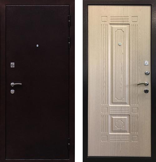 входные двери (стальные двери, металлические двери) DOORS007: дверь Ратибор Стандарт