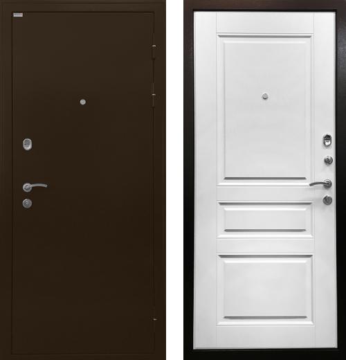 входные двери (стальные двери, металлические двери) DOORS007: дверь Ратибор Статус