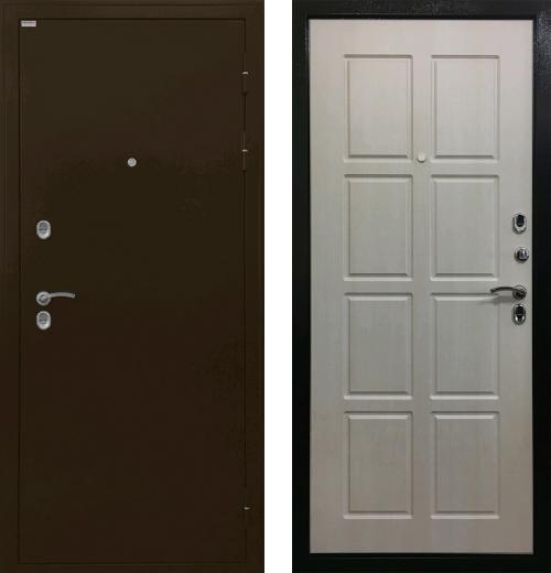 входные двери (стальные двери, металлические двери) DOORS007: дверь Ратибор Термоблок 3К