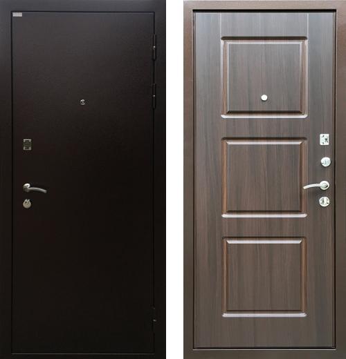 входные двери (стальные двери, металлические двери) DOORS007: дверь Ратибор Трио