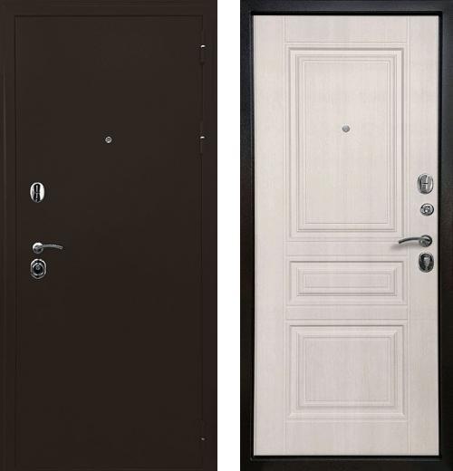 входные двери (стальные двери, металлические двери) DOORS007: дверь Ратибор Троя 3К