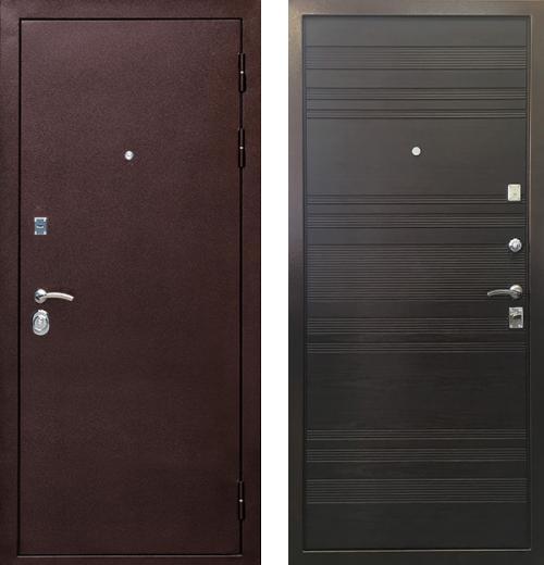 входные двери (стальные двери, металлические двери) DOORS007: дверь Ратибор Вектор