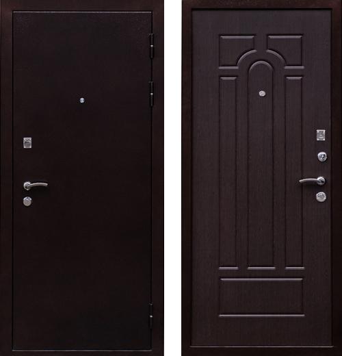 входные двери (стальные двери, металлические двери) DOORS007: дверь Ратибор Вега