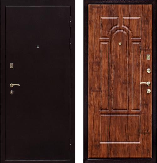входные двери (стальные двери, металлические двери) DOORS007: дверь Ратибор Византия