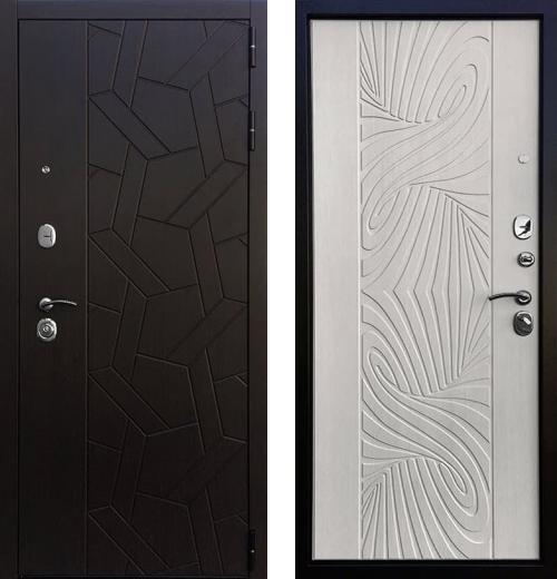 входные двери (стальные двери, металлические двери) DOORS007: дверь Ратибор Витраж 3К